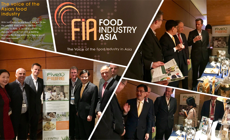 Unveiling Five10Fibre™ at the Food Industry Asia Summit in Singapore